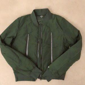 ALO Yoga - Cropped Bomber Jacket